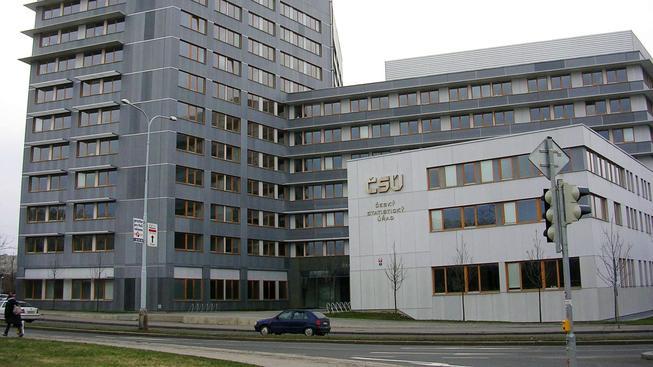 Budova Českého statistického úřadu v Praze