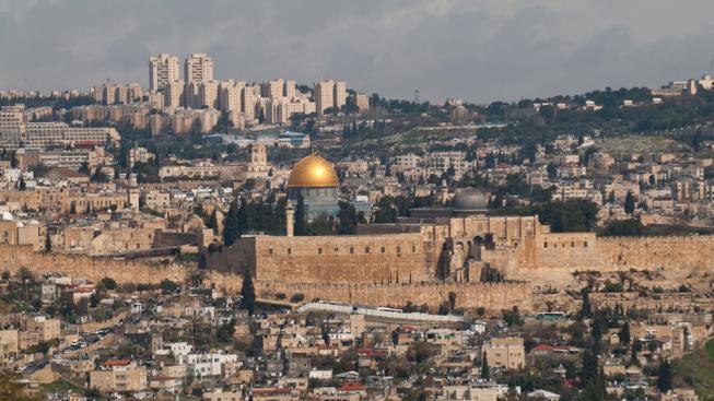 Jeruzalém (ilustrační fotografie)