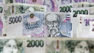 České peníze (ilustrační foto)