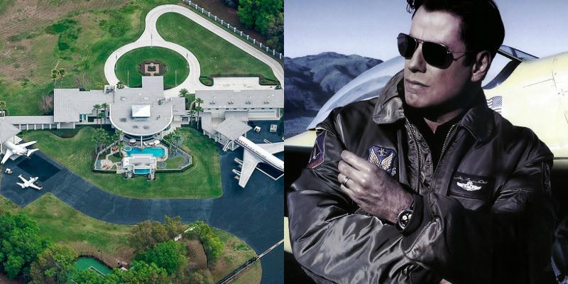 Travolta žije v hangáru, Hanks v kanceláři