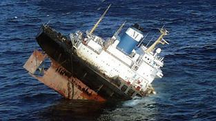 Potopený tanker Prestige
