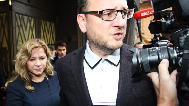 Petr Nečas s Janou Nagyovou