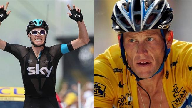 Chris Froome, Lance Armstrong