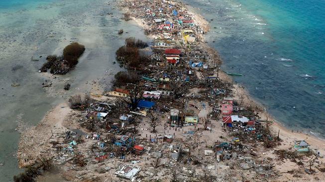 Supertajfun Haiyan, Filipíny