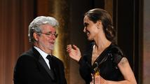 Angelina Jolie převzala čestného Oscara za humanitární činnost