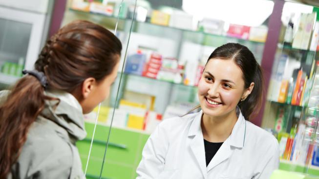 V lékárně (ilustrační fotografie)