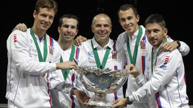Čeští tenisté