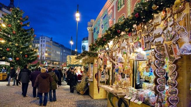 Vánoční trhy, Náměstí republiky