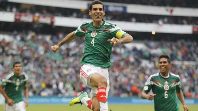 Radost hráčů Mexika