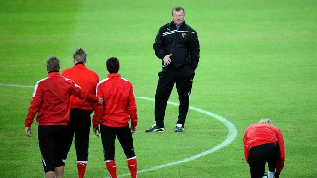 Pavel Vrba s hráči