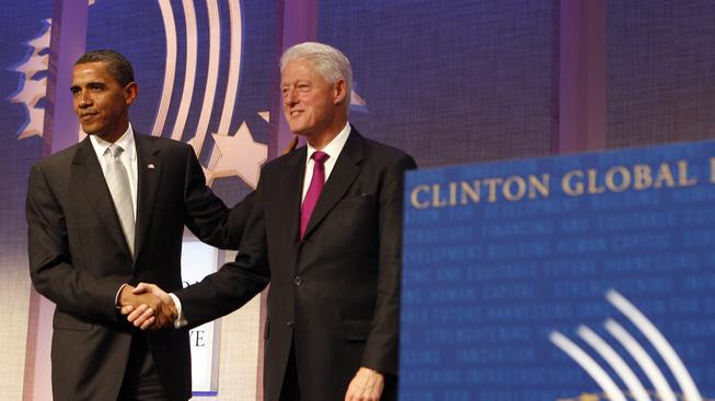 Barack Obama s Billem Clintonem (ilustrační fotografie)