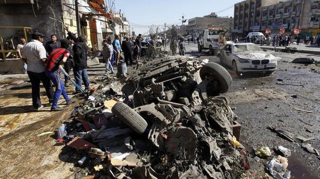 Pumový útok, Irák