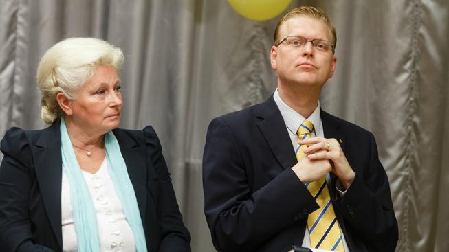 Zuzana Roithová a Pavel Bělobrádek