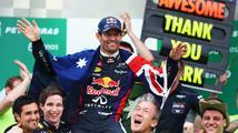 Webber se velkolepě rozloučil s F1