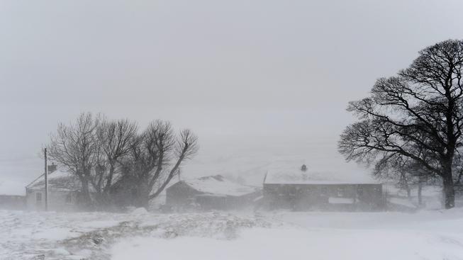 Sněhová bouře, Oklahoma City