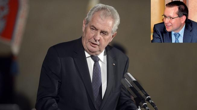 Zeman jmenoval Suchánka ústavním soudcem