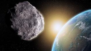 Asteroid (ilustrační foto)