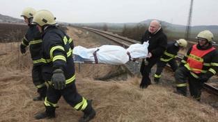 Vlak usmrtil muže