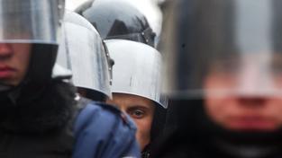 Ukrajinská policie (ilustrační fotografie)