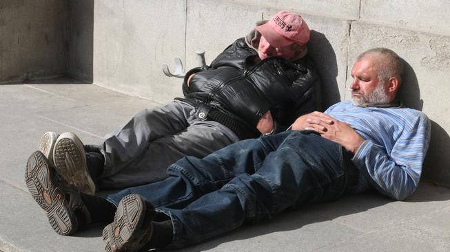 Bezdomovci (ilustrační fotografie)