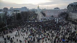 Demonstrace v Kyjevě