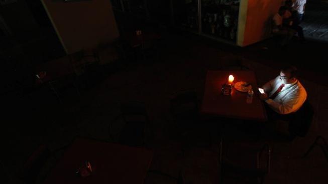 Výpadek proudu, Caracas