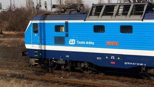 Vlak ČD Cargo (ilustrační foto)