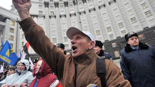 Demonstrace, Kyjev