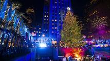 V New Yorku se rozzářil vánoční strom