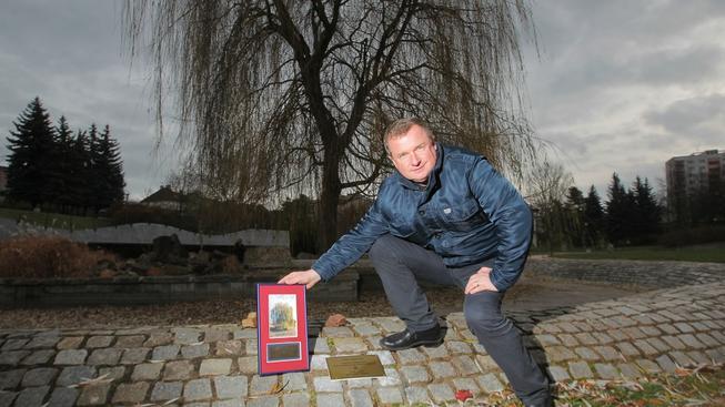 Pavel Vrba s narozeninovým dárkem