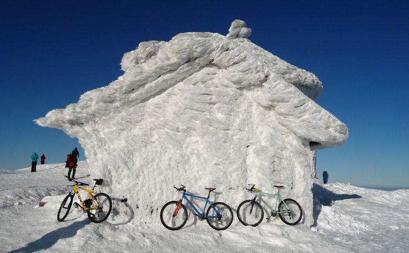 Na Sněžku na kole? Jen pro náročné