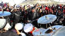 Metallica si střihla koncert na Antarktidě