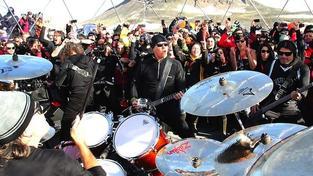 Metallica na Antarktidě