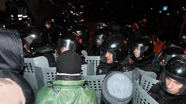 Demonstrace, Kijev