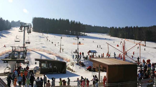 Ski areál Zadov, Šumava