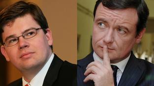 Jiří Pospíšil, David Rath (vpravo)