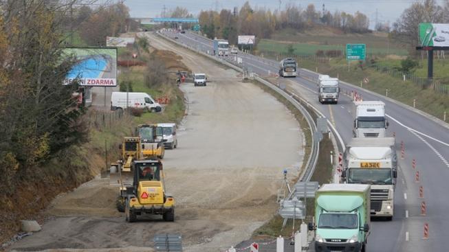 Stavba dálnice D3