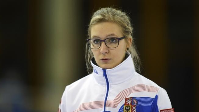 Česká reprezentantka v curlingu Anna Kubešková