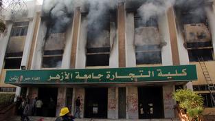 Hořící univerzita v Káhiře