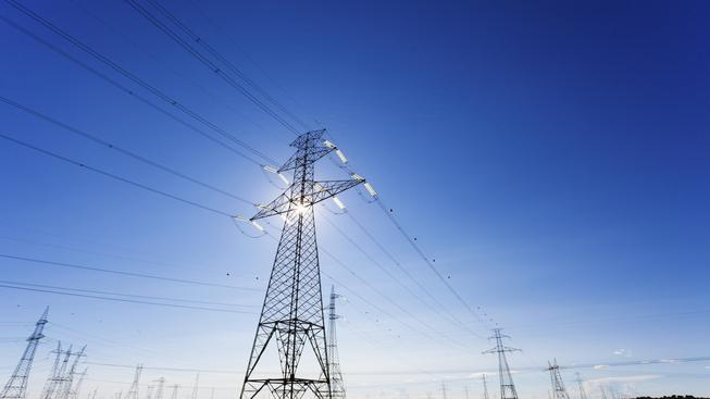 Elektřina (ilustrační fotografie)