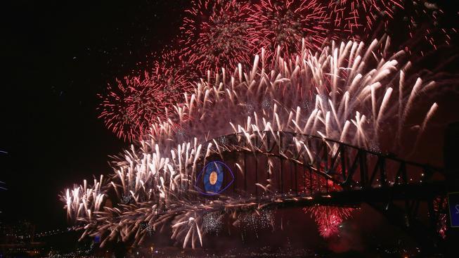 Oslavy Nového roku, Sydney