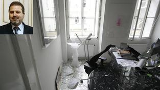 Výbuch bytu (il. foto), palestinský velvyslanec