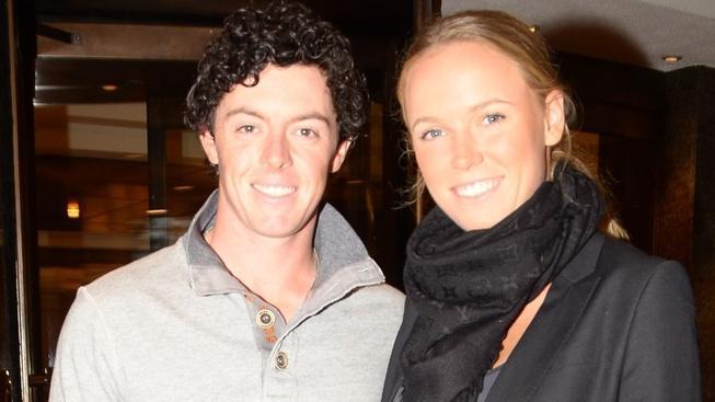 Rory McIlroy s Caroline Wozniackou