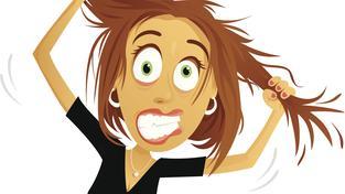 Stres (ilustrační foto)