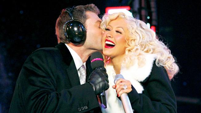 Ryan Seacrest a Christina Aguilera