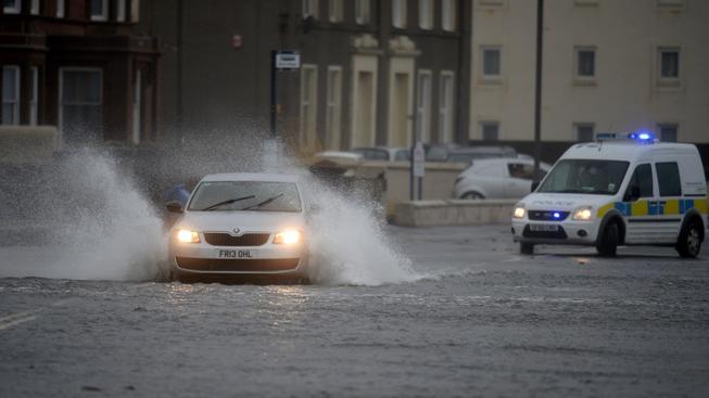 Povodně ve Velké Británii
