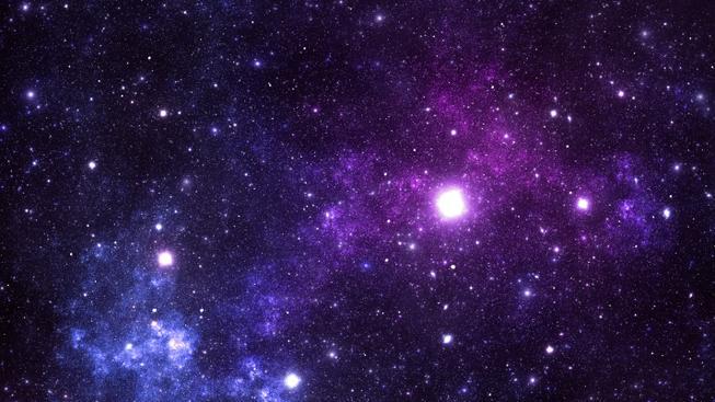 Vesmír (ilustrační fotografie)
