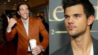 Bradley Cooper, Taylor Lautner