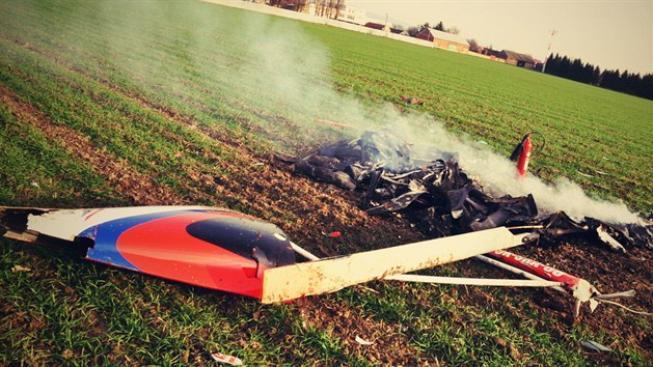 Nehoda ultralehkého vrtulníku