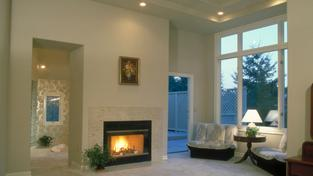 Vytopený obývací pokoj (ilustrační fotografie)
